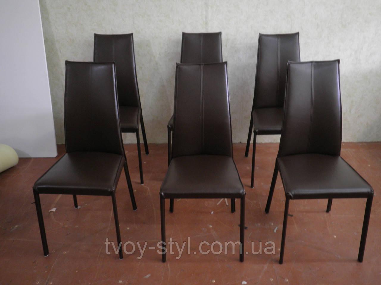 Обивка стульев в кожзам