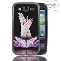 Чехол FaceCase SWAROVSKI Samsung I9300 Beauty in Hands