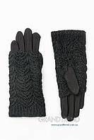 Перчатки женские черные, фото 1
