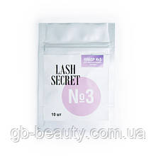 Набор №3 для ламинирования ресниц LASH SECRET, состав №3 (10 шт)