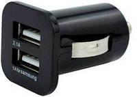Зарядное устройство Powerplant в комплекте 2xUSB: PDA, MP3, AUTO; 3.1A DV00DV5036