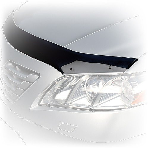 Дефлектор капота (мухобойка) Тойота LAND CRUISER PRADO 120 2001-2008 logo