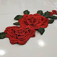 3D Роза пришивная