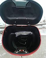 Кофр для мотоцикла (багажник) TVR на один шлем 445*385*295