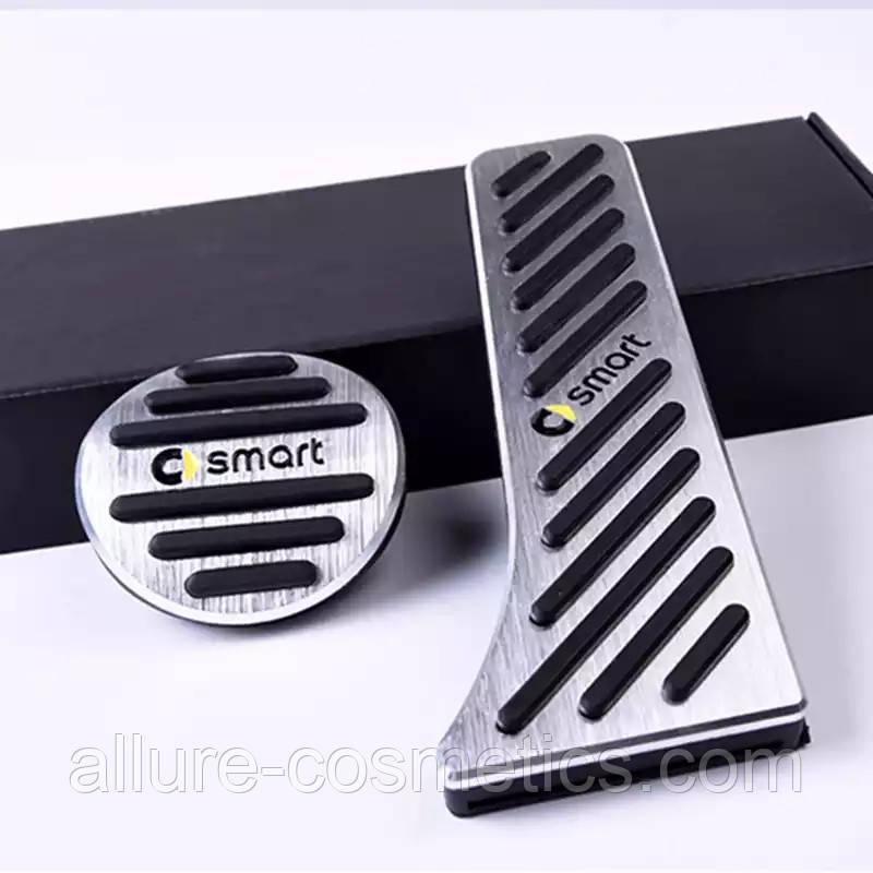 Алюминиевые накладки на педали Smart 450 451 452 453