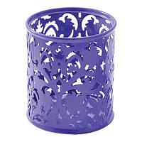 Подставка для ручек металлическая BAROCCO BM.6204-07 фиолетовый