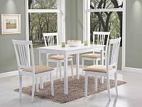Стол обеденный деревянный Fiord 110x70 Signal белый