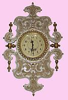 Часы настенные с золочением