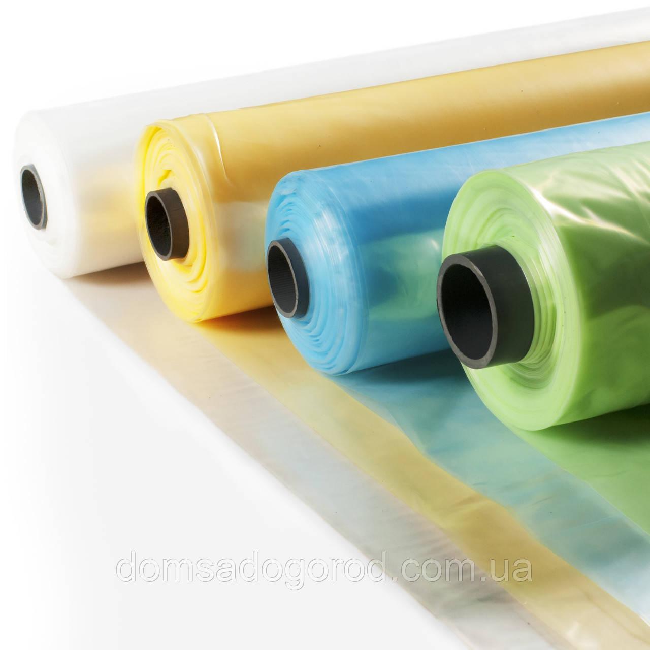 Пленка полиэтиленовая тепличная с противотуманным эффектом (анти роса) Пластмодерн 6000мм-150-мкм-33 м 36 мес.