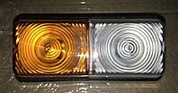 Фонарь МТЗ, ЮМЗ передн. лев/прав. габаритный метал. корпус (Руслан-Комплект), фото 1