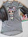Новинка! Детское платье на девочку с куколкой LOL Размер 122  Тренд сезона, фото 2