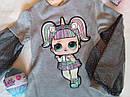 Новинка! Детское платье на девочку с куколкой LOL Размер 122  Тренд сезона, фото 6