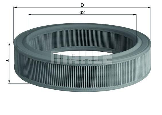 Воздушный фильтр Knecht LX568