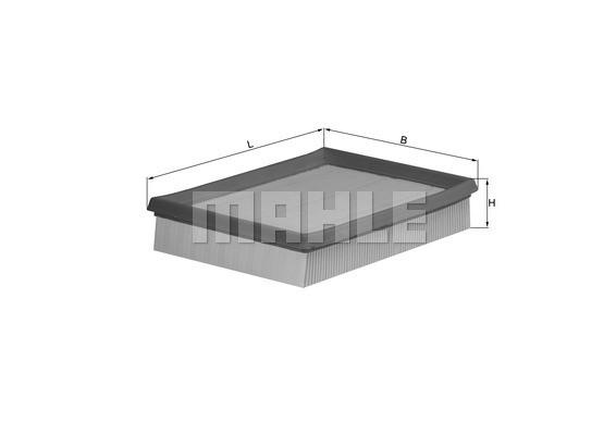 Воздушный фильтр Knecht LX643