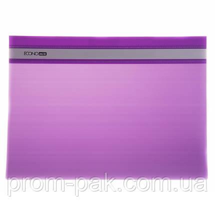 Файл скоросшиватель Economix  31511-12 цвет: фиолетовый , фото 2