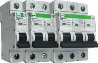 Автоматический выключатель EVO АВ2000 1Р D 125A 10кА