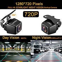 Камера заднего вида NATIKA 720P для резервного копирования / переднего / бокового обзора, IP69K , фото 3