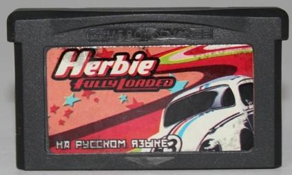 """Картридж на GBA """"Herbie fully loaded"""""""