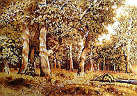 Картина из янтаря. Пейзаж 4