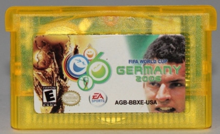 "Картридж на GBA ""FIFA WORLD CUP"""