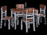 Стол обеденный деревянный Play + 4 стула Signal