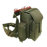 Поясная сумка оливковая  многофункциональная 1000 D MIL-TEC13526001
