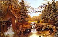 Картина из янтаря. Пейзаж 6