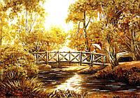 Картина из янтаря. Пейзаж 7