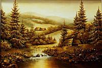 Картина из янтаря. Пейзаж 8