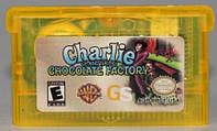 "Картридж на GBA ""Charlie & Chocolate Factory"""
