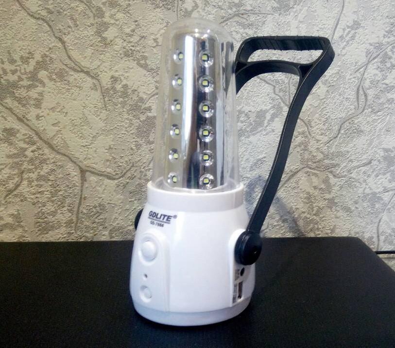 Фонарь аккумуляторный для кемпинга GD1 7666