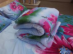 Одеяла 100% шерсть покрытие сатин