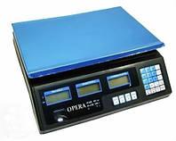 Электронные торговые весы Opera, 40 кг
