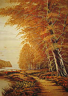 Картина из янтаря. Пейзаж 15
