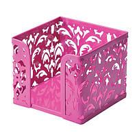 Бокс для бумаги металлический BAROCCO BM.6216-10 розовый