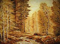 Картина из янтаря. Пейзаж 16