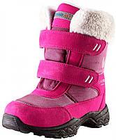 Зимние ботинки для девочки Lassietec, неоново-малиновые, Lassie by Reima (28) (769098_3380 неон.малин)
