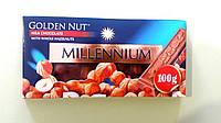 Шоколад Millennium молочний з фундуком 100 г