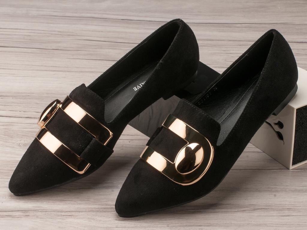 Туфли женские на низком ходу оптом