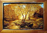Картина из янтаря. Пейзаж 21