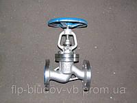 Клапан запорный фланцевый 15с22нж Ду15