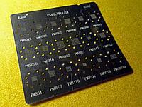Трафарет A509 BGA для Qualcomm, Marvell (PM8916, PM8941, PM8952, PM820AED, PM8018, PM8926 и др.)