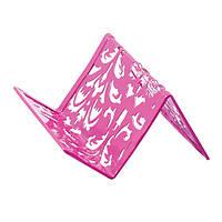 Подставка для визиток металлическая BAROCCO BM.6226-10 розовая