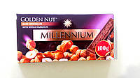 Шоколад Millennium чорний з фундуком 100 г