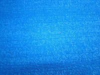 Фоаміран махровий  листовий 20*30 см 2 мм (Китай)  синій