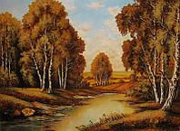 Картина из янтаря. Пейзаж 27