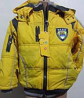 Демисезонная куртка для мальчиков в расцветках