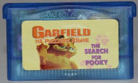 "Картридж на GBA ""Garfield the search for pooky"""