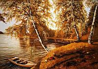 Картина из янтаря. Пейзаж 29