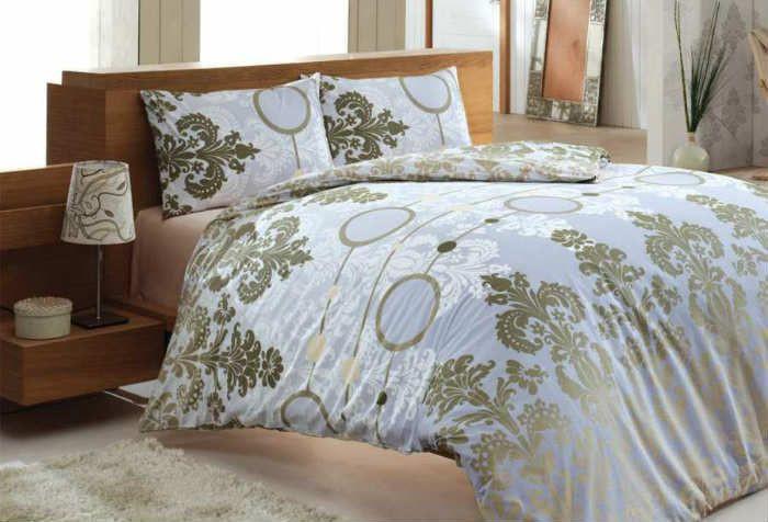 Постельное белье  Ранфорс полуторное  произ-во Турция  торговая марка BAHAR CLASS